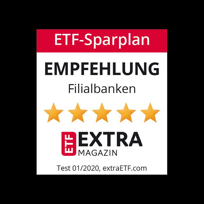 ETF Sparplan Empfehlung