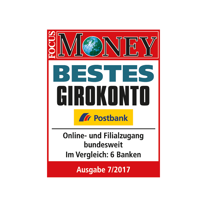 "Postbank hat das ""Beste Girokonto"""