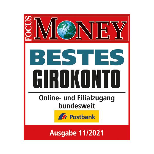 Postbank Giro Extra plus auf Platz 1