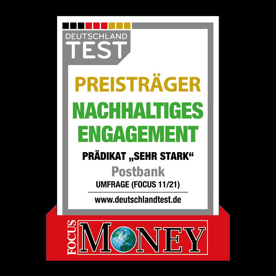 FOCUS MONEY - Nachhaltiges Engagement 11/21
