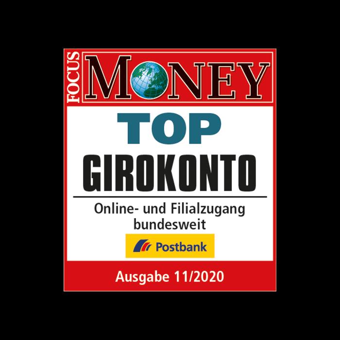 Top Girokonto: Postbank Giro Extra plus