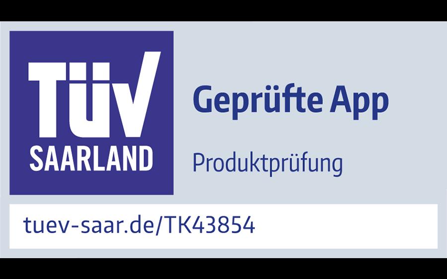 BestSign App vom TÜV geprüft – Schnell. Einfach. Sicher.