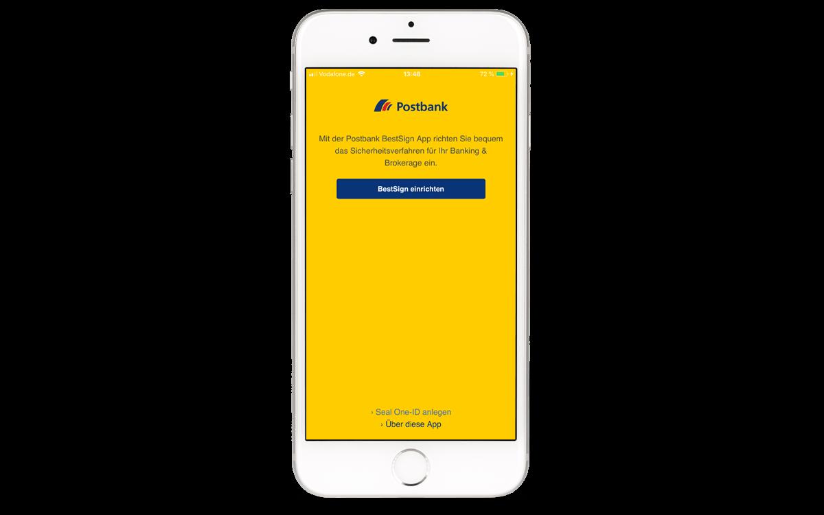 BestSign App aktivieren - App öffnen