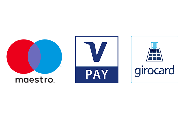 Maestro/V PAY oder girocard