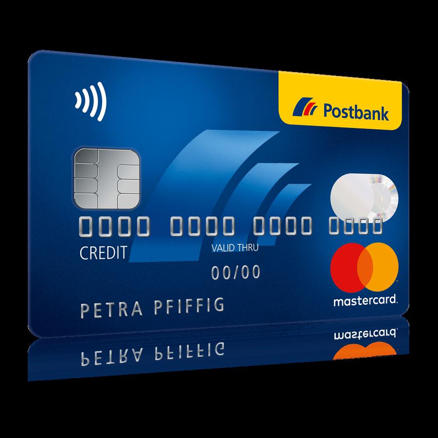 Konditionen zur Postbank Mastercard