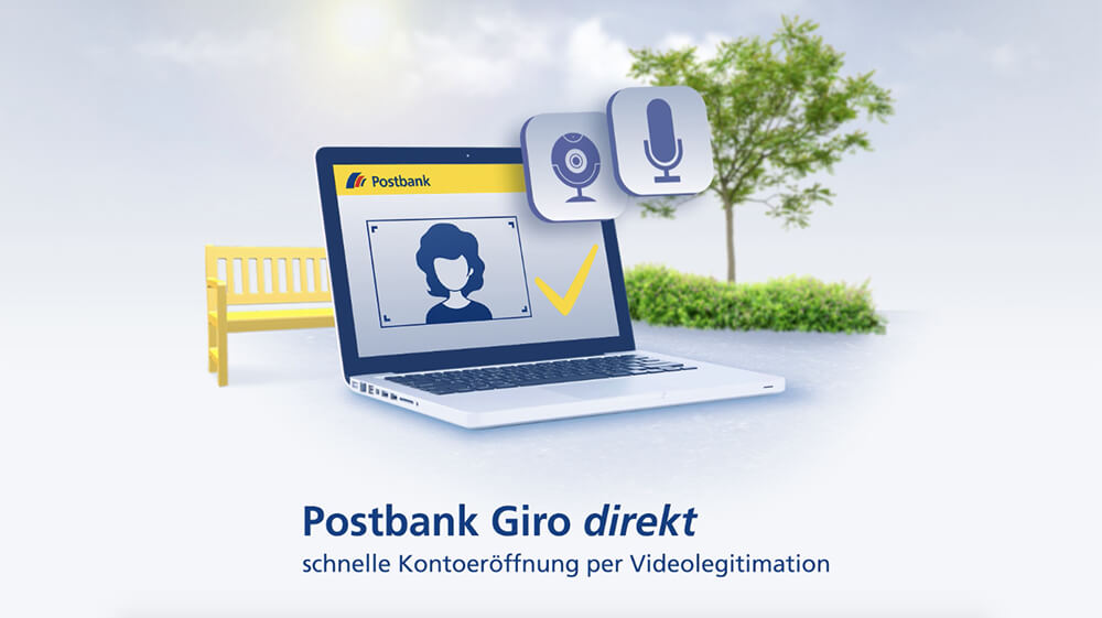 Online-Legitimation per Video-Chat