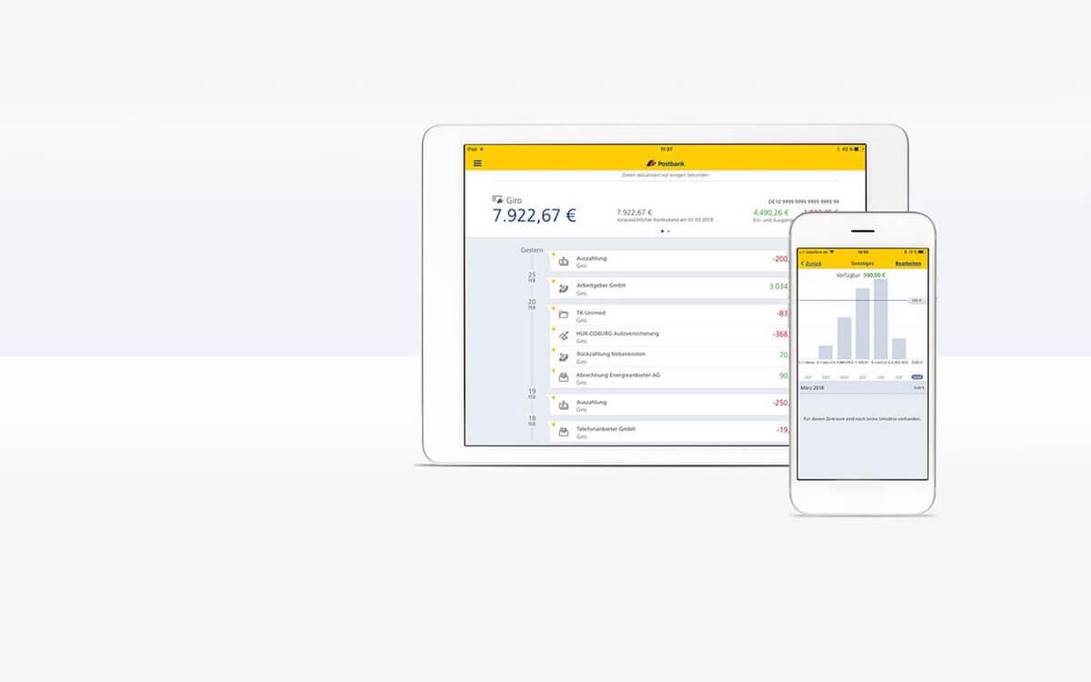 Jetzt neu: mobil bezahlen mit der Postbank App!