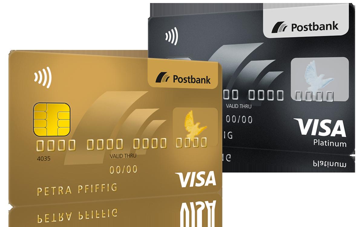 Wechsel zur Visa Card GOLD