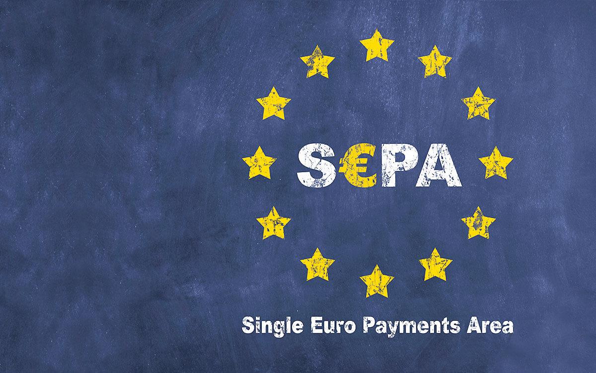 SEPA – Tafel mit Sepa-Grafik