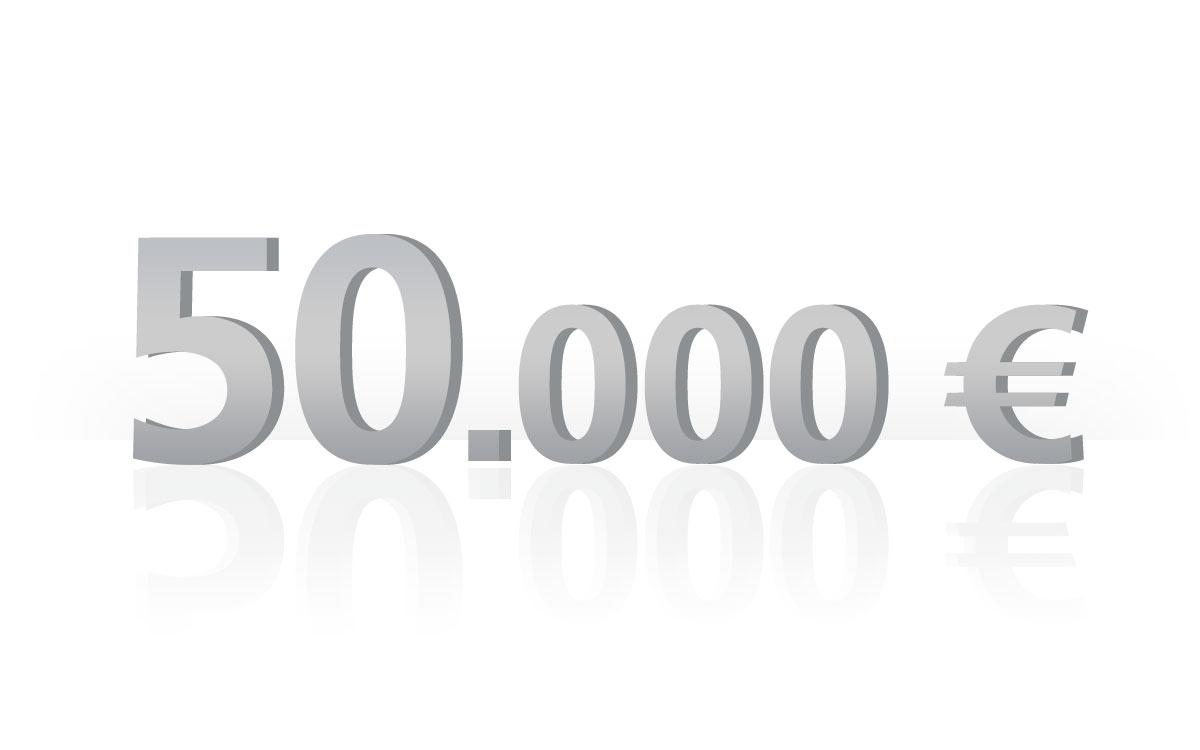 50.000 € Versicherungssumme