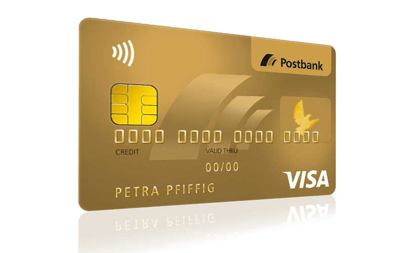 Konditionen Postbank Visa Card GOLD