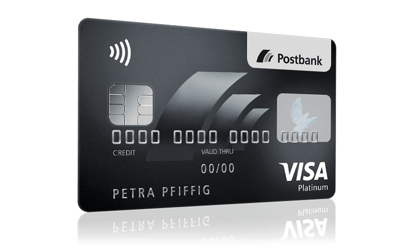 Konditionen Postbank Visa Card PLATINUM