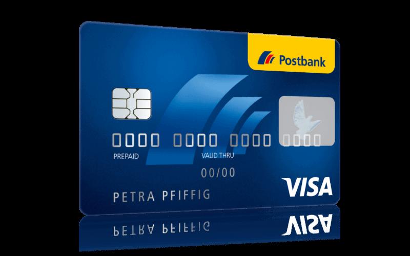 Konditionen Postbank Visa Card Prepaid