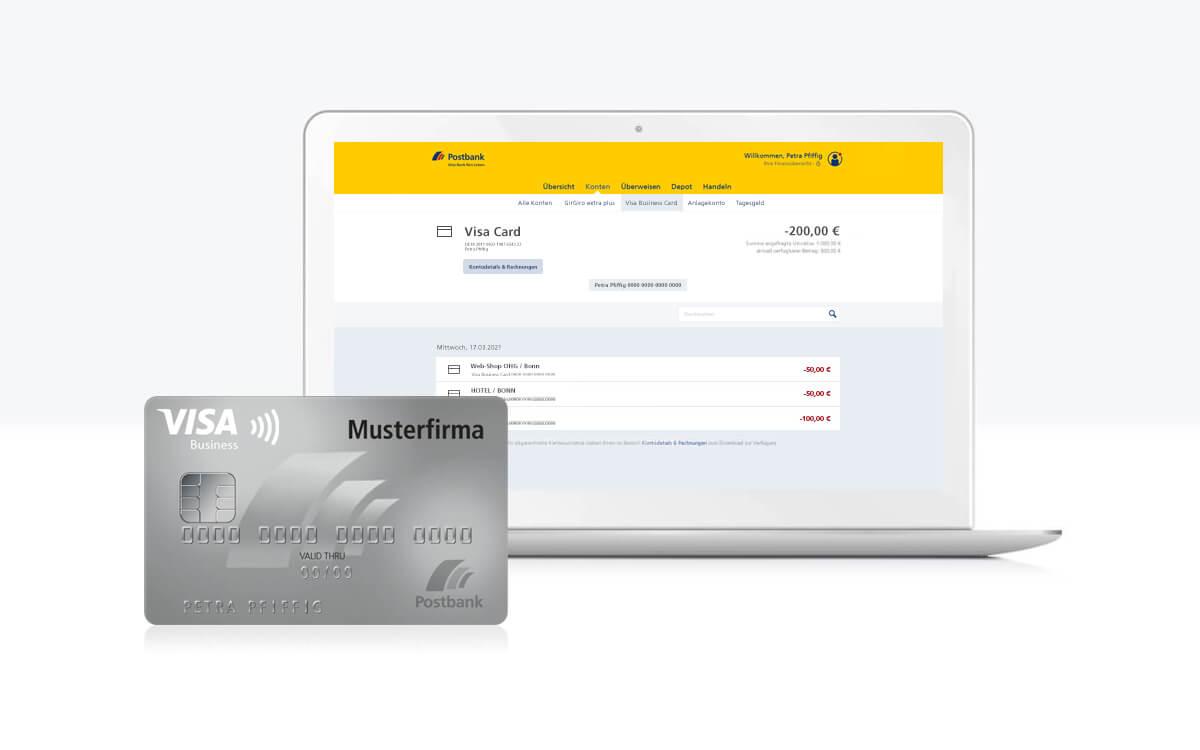Postbank Kreditkarten-Onlineservice