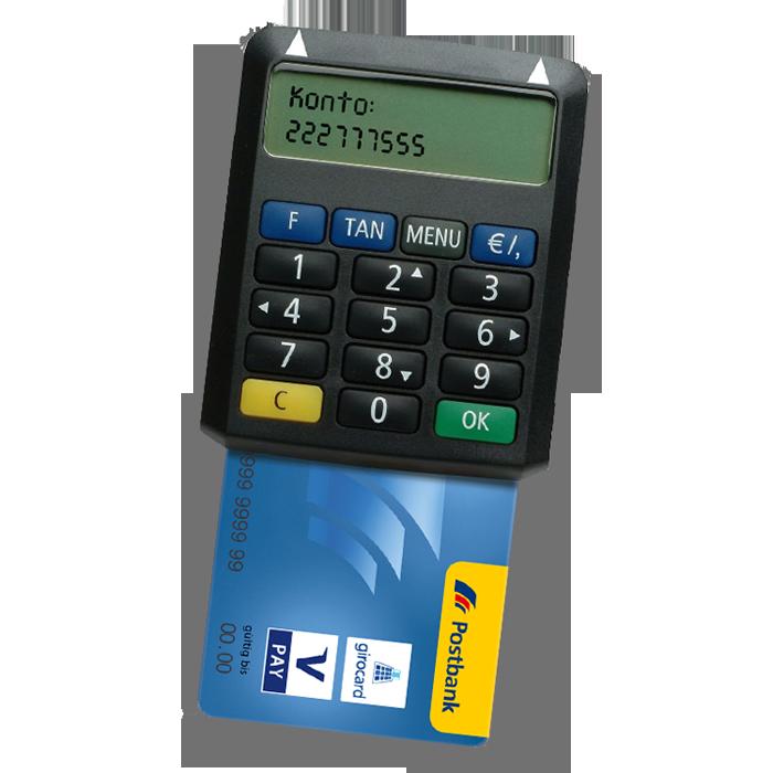 Postbank chipTAN – TAN Optimus Comfort