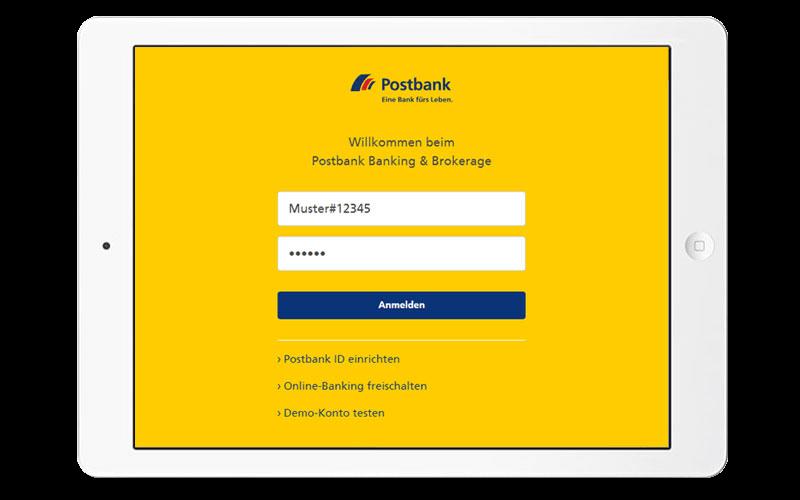 Postbank ID für Geschäftskunden