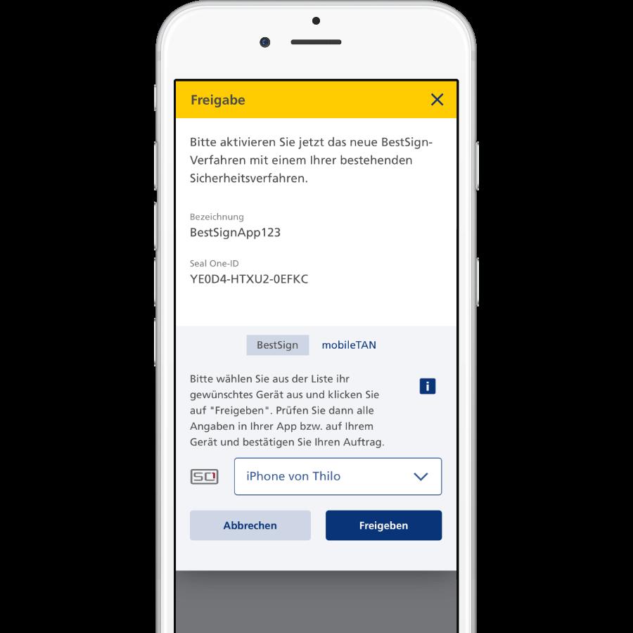 Neue BestSign App mit altem BestSign-Verfahren sofort aktivieren