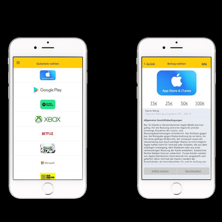 Postbank Finanzassistent - Beste Karten bei Apple, Google und Co.