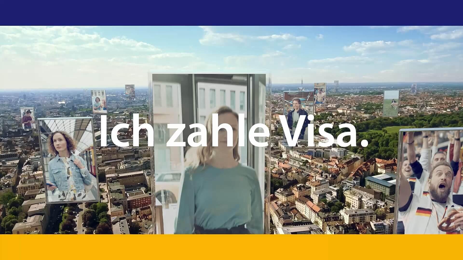 Ich zahle Visa