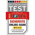 Postbank ist die sicherste Online-Bank