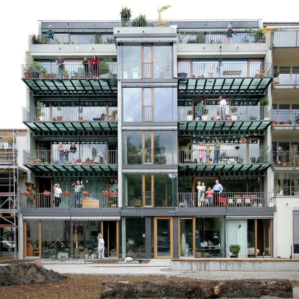 <p>Gruppenvorteile: gemeinschaftlich planen, sparen und gestalten<br> Bild Nr. 6267, Quelle: Sommer/Noenen Albus Architektur/BHW Bausparkasse</p>