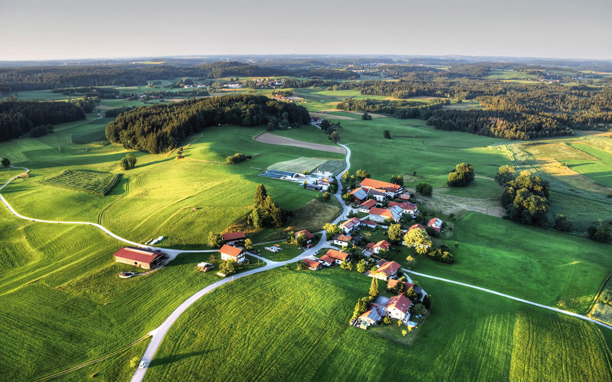 Hauskauf im Dorf: Alles auf Grün!