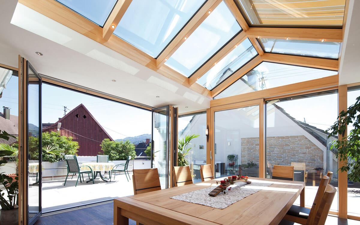 Neue Energiekonzepte für Wintergärten