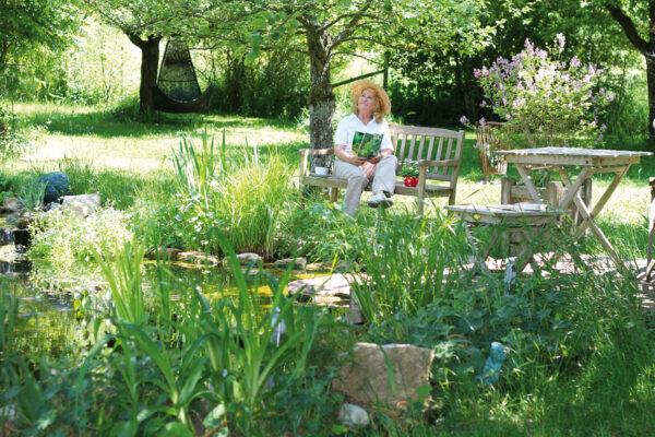 <p>Ein fachgerecht angelegter Teich erhöht den Wert des Gartens<br> Bild Nr. 6381, Quelle: ehrenberg-bilder, 32669583, Adobe Stock/BHW Bausparkasse</p>