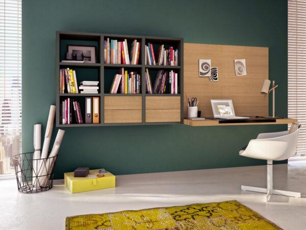 <p>Wohnlich und funktional – das moderne Home-Office<br> Bild Nr. 6382, Quelle: Hülsta/BHW Bausparkasse</p>