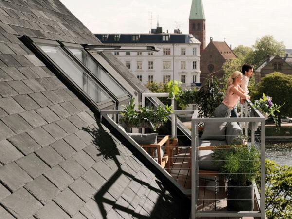 Schöne Aussichten – ein Balkonanbau steigert den Wohnwert Bild Nr. 6243, Quelle: Velux/BHW Bausparkasse