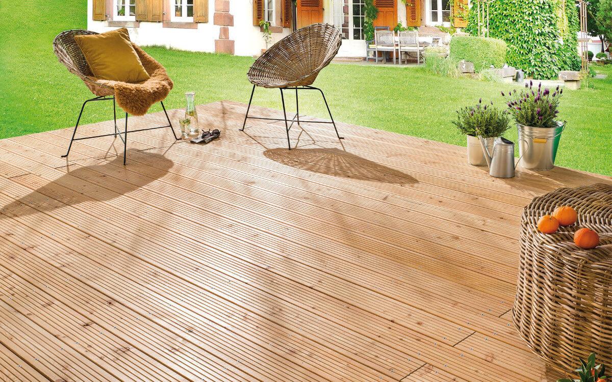 Nachhaltiges Terrassenholz erkennt man am Siegel