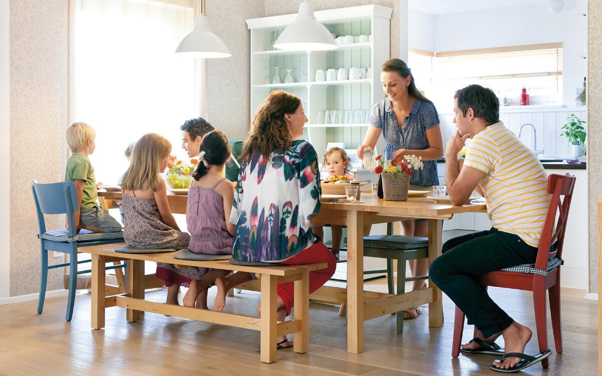 Besonders Familien jenseits der großen Metropolen nutzen das Baukindergeld