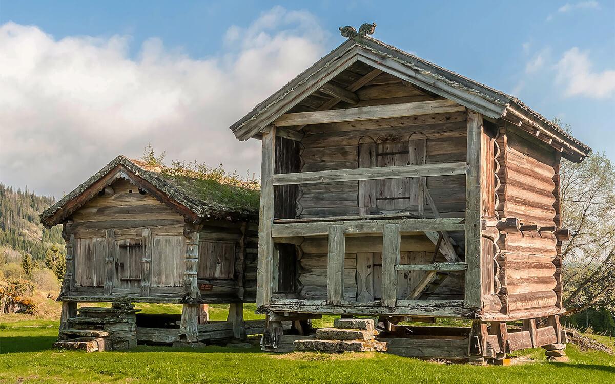 Ganz alt: Das älteste Holzhaus der Welt steht in Norwegen