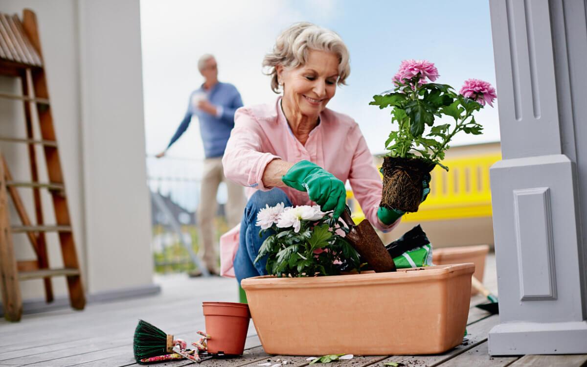 Ältere Käuferinnen und Käufer können meist mehr Eigenkapital einbringen als jüngere