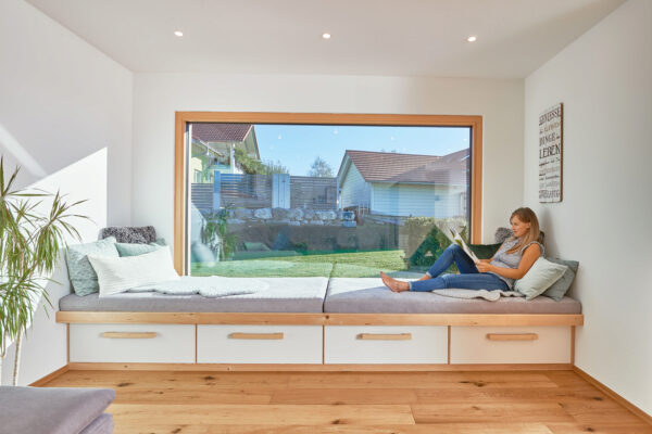 Holzfenster schaffen ein behagliches Wohnklima Bild Nr. 6295, Quelle: WeberHaus/BHW Bausparkasse