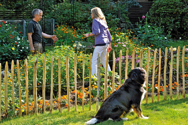 Freundliche Optik und gute Ökobilanz: Gartenzäune aus Holz Bild Nr. 6298, Quelle: Tetzner & Jentzsch/BHW Bausparkasse
