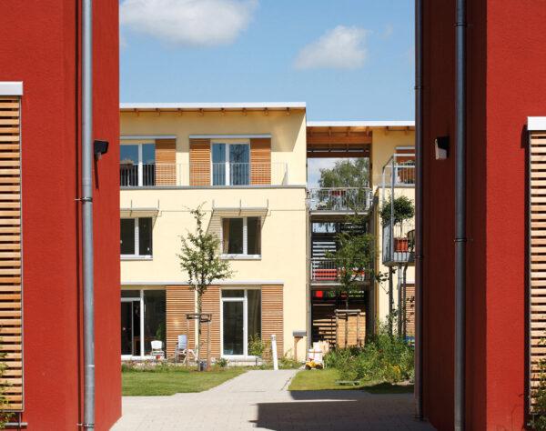 Farbe verleiht Häusern Ausstrahlung. Das geht heute auch ganz ohne Biozide Bild Nr. 6307, Quelle: Neustadtarchitekten/C. Gebler/BHW Bausparkasse