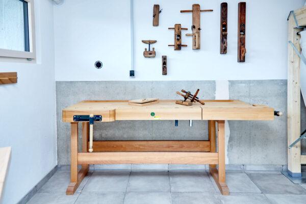 Im Keller lässt sich nicht nur gut werkeln, sondern auch Wohnraum schaffen Bild Nr. 6312, Quelle: Baufritz/BHW Bausparkasse