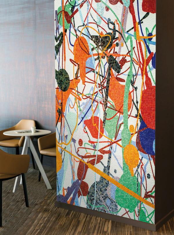 Mosaike: Zauber aus Form und Farbe Bild Nr. 6320, Quelle: Onart Decor/BHW Bausparkasse
