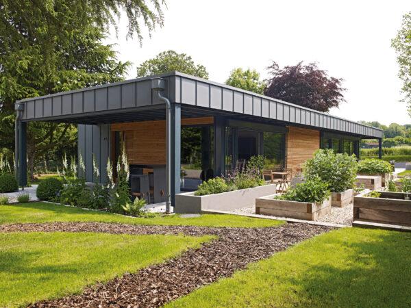 So modern kann der altbewährte Baustoff Holz wirken Bild Nr. 6327, Quelle: Baufritz/BHW Bausparkasse