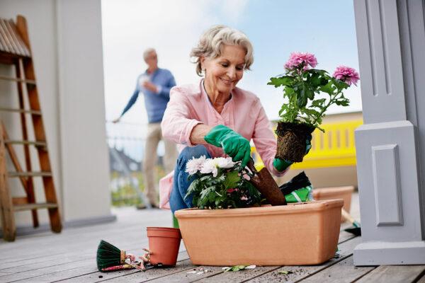 Ältere Käuferinnen und Käufer können meist mehr Eigenkapital einbringen als jüngere Bild Nr. 6333, Quelle: Postbank