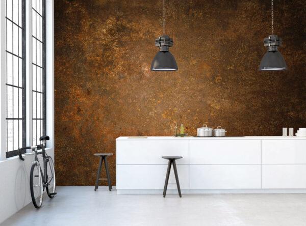Kupferelemente bringen den Industrie-Look ins Zuhause Bild Nr. 6338, Quelle: Tjilly Wall Fashion/BHW Bausparkasse