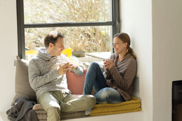Nur die Ruhe! Ein Immobilienkauf will wohlüberlegt sein Bild Nr. 6346, Quelle: Postbank