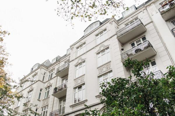 Wohnungen aus der Zeit um 1900 wie hier in Hamburg eignen sich oft gut für Teilungen Bild Nr. 6347, Quelle: Kathrine Nielsen/BHW Bausparkasse