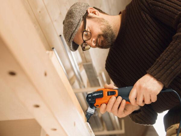 Wer mit anpackt muss wissen: Für selbst ausgeführte Arbeiten gibt es keine Gewährleistung Bild Nr. 6350, Quelle: Fein/BHW Bausparkasse
