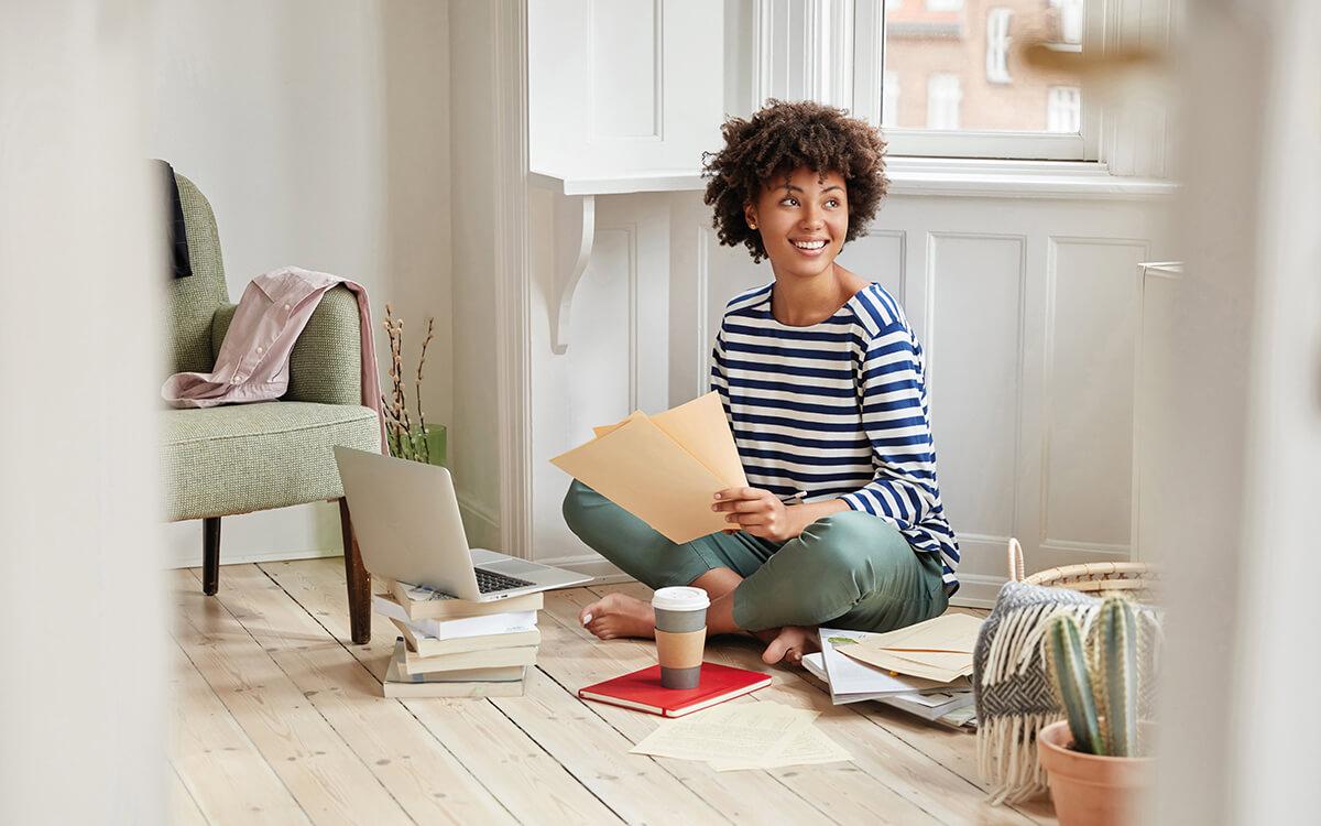 Entspannt studieren – in den eigenen vier Wänden