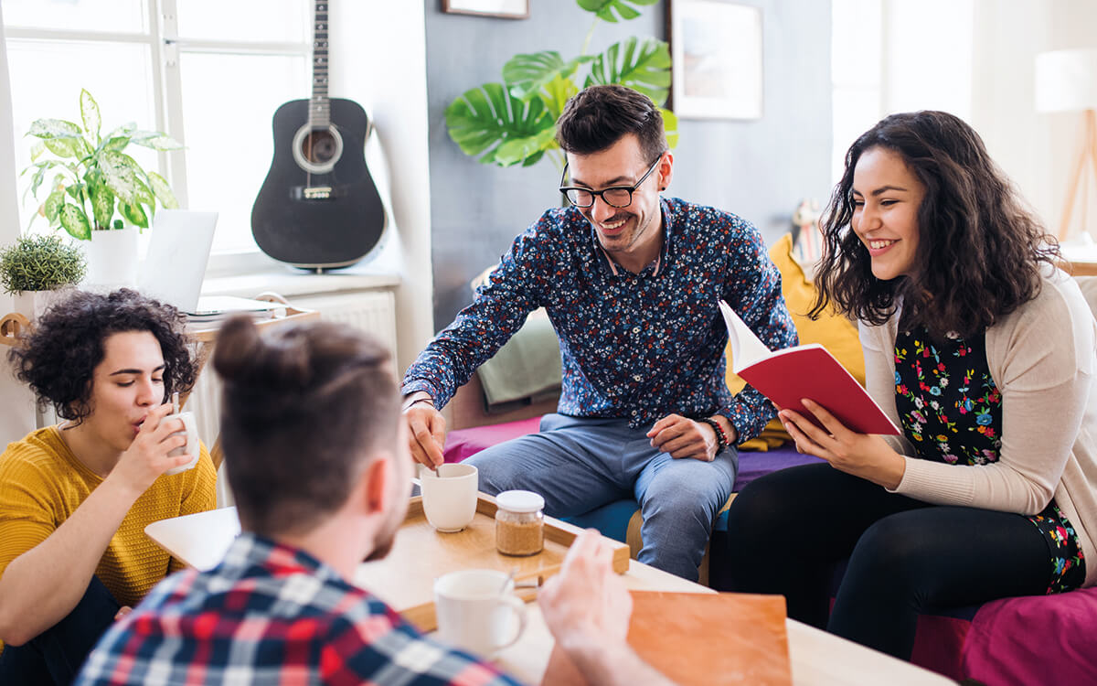 Hauskauf mit Freunden erfordert klare Absprachen