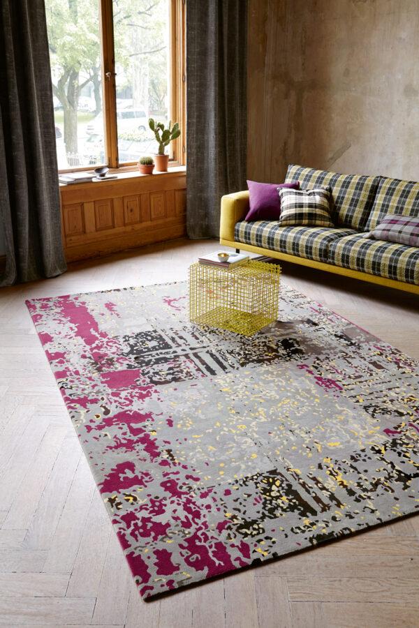 Salonfähig: Teppiche als farbenfrohe Hingucker mit Schallschutzeffekt Bild Nr. 6377, Quelle: JAB ANSTOETZ/BHW Bausparkasse