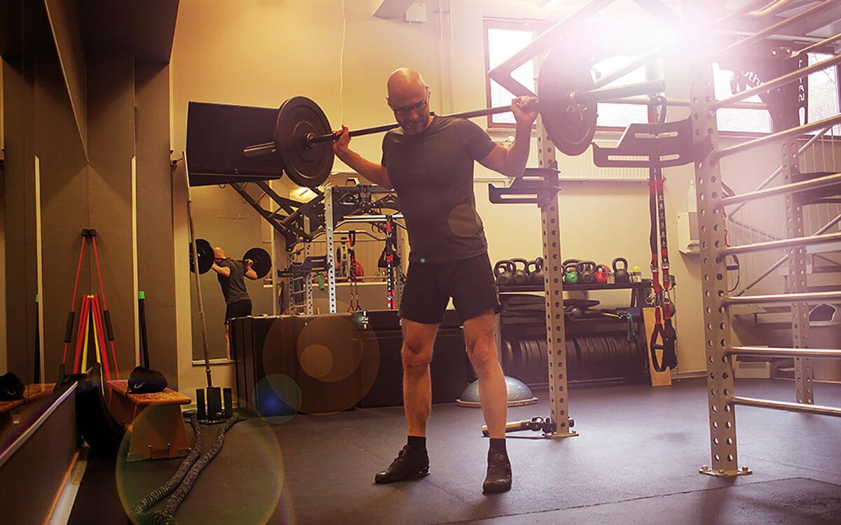 Fitnessraum: Das Trainingscamp im Keller