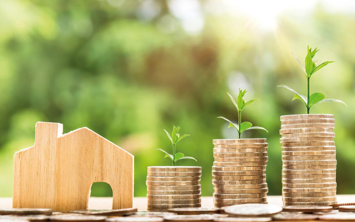 Gute Perspektive: Mit Wohneigentum langfristig Vermögen aufbauen